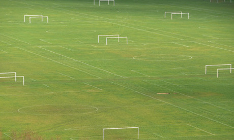 Hackney Marshes, the current home of Sporting Hackney FC.