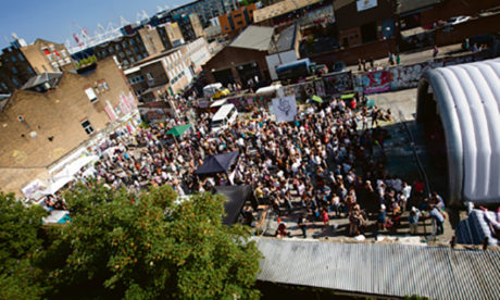 Crowds at Hackney WickED