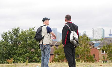 Walking the line: Iain Sinclair surveys London