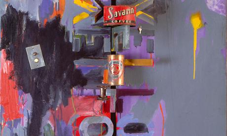 Jasper Johns Field Painting