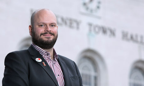 In charge: Philip Glanville officially became Mayor of Hackney this week