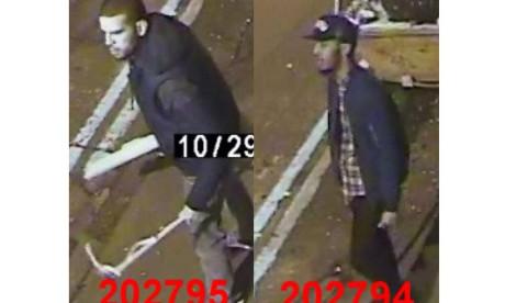 Violent assault in Hoxton