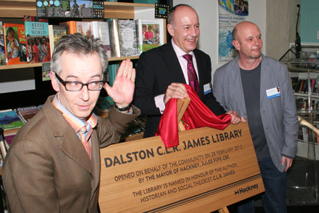 dalston clr james library opens