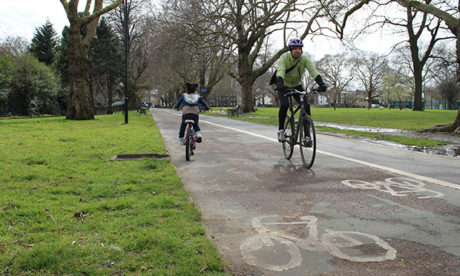 london fields cycleway