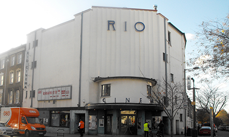 Art deco landmark: The Rio. Photograph: Glenn McMahon
